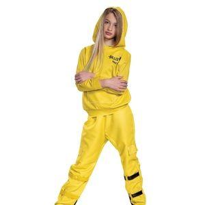 Billie Eilish Girls Deluxe Yellow Costume NWTs